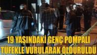 Manisa'da Pompalı Tüfekle Cinayet