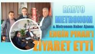 Metronom Yayıncılıktan Emniyet Müdürü Engin Pınar'a Ziyaret