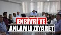 MHP Meclis Üyelerinden Ensivri ye Anlamlı Ziyaret