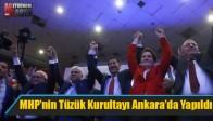MHP'nin Tüzük Kurultayı Ankara'da Yapıldı