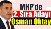 MHP'de 2. Sıra Adayı Osman Oktay