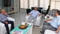Milletvekili Özensoy'dan Başkan Ergün'e Tebrik Ziyareti