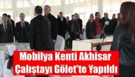 Mobilya Kenti Akhisar Çalıştayı Gölet'te Yapıldı