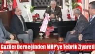 Muharip Gaziler Derneğinden MHP'ye Tebrik Ziyareti