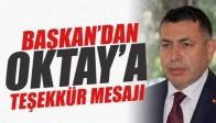 Mustafa Ulus'tan Av.Osman Oktay'a Teşekkür