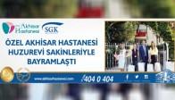 Özel Akhisar Hastanesi Huzurevi Sakinleriyle Bayramlaştı