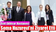 Özel Akhisar Hastanesi Soma Huzurevi'ni Ziyaret Etti