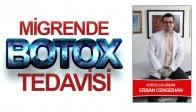 Özel Doğuş Hastanesi Bilgilendiriyor! Migrende Botox Tedavisi