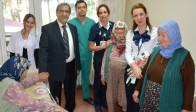 Özel Doğuş Hastanesi Huzurevi'ni Ziyaret Etti