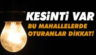 Pazar Günü Akhisar'da Bir Çok Bölgede Elektrik Kesintisi Var!