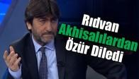 Rıdvan Dilmen Akhisar Beledispor'dan Özür Diledi
