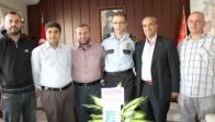 Saadet Partisi, Emniyet Müdürü Pınar'ı Ziyaret Etti
