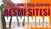 Sarı Ahmet Paşa Aşevi Resmi Sitesi yayında