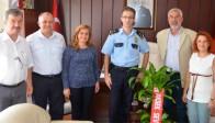 Sevgi Çocukları, Emniyet Müdürü Pınar'ı Ziyaret Etti