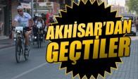Sınır Ötesi Bisiklet Turu Yolcuları Akhisar'dan Geçti