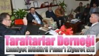 Taraftarlar Derneği, Emniyet Müdürü Pınar'ı Ziyaret Etti