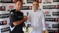 Tecrübeli Kalecinin Eldiven sponsoru İki yıl daha UHLSport