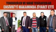Tenekeciler ve Sıhhi Tesisatçılar Ensivri'yi Ziyaret etti.