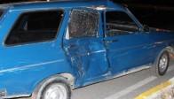 Trafik Işığı Bulunmayan Kavşakta Kaza