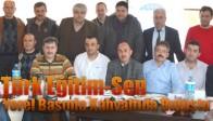 Türk Eğitim-Sen Yerel Basınla Kahvaltıda Buluştu