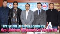 Türkiye'nin En Büyük Sendikası Özel Akhisar Hastanesi'ni Tercih Etti