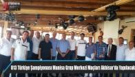 U13 Türkiye Şampiyonası Manisa Grup Merkezi Maçları Akhisar'da Yapılacak