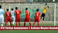 U19 Türkiye Şampiyonası 1. Kademe Maçları Başladı