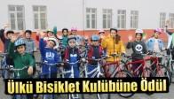 Ülkü Bisiklet Kulübüne Ödül