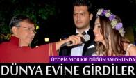 Ütopia Wedding Mor Kır Düğün Salonunda Dünya Evine Girdiler