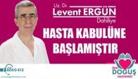 Dâhiliye Uzmanı Uz. Dr. Levent Ergün, Göreve Başladı