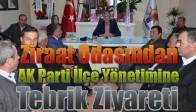 Ziraat Odasından, AK Parti İlçe Yönetimine Tebrik Ziyareti