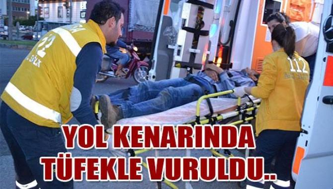 Turgutlu'da Tüfekle Yaralama