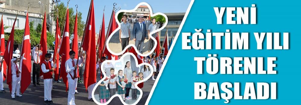 2014-2015 Eğitim Yılı Törenle Başladı