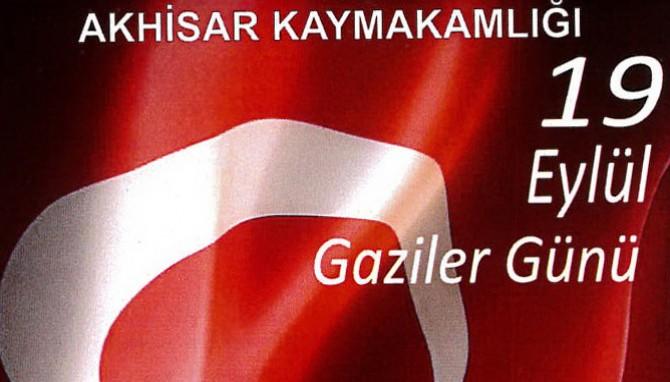 2016 yılı Akhisar Gaziler Günü programı açıklandı