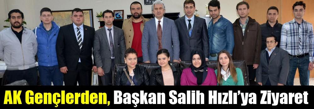 AK Gençlerde, Başkan Salih Hızlı'ya Ziyaret