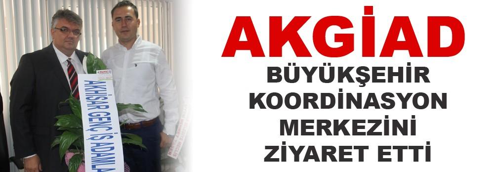 Akgiad, Büyükşehir Koordinasyon Merkezini Ziyaret Etti