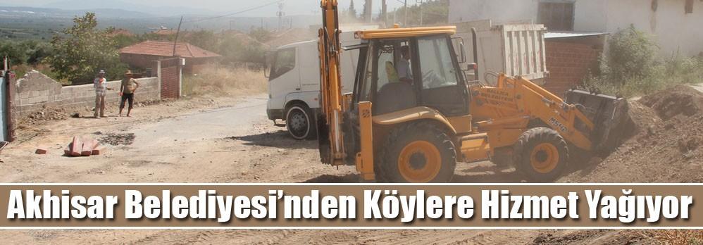 Akhisar Belediyesi'nden Köylere Hizmet Yağıyor