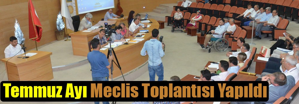 Akhisar Belediyesi Temmuz Ayı Meclis Toplantısı Yapıldı