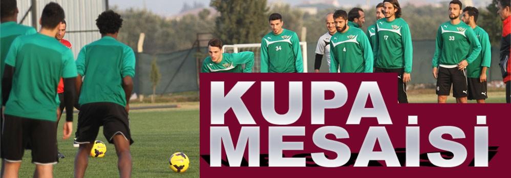 Akhisar Belediyespor'da Kupa Mesaisi