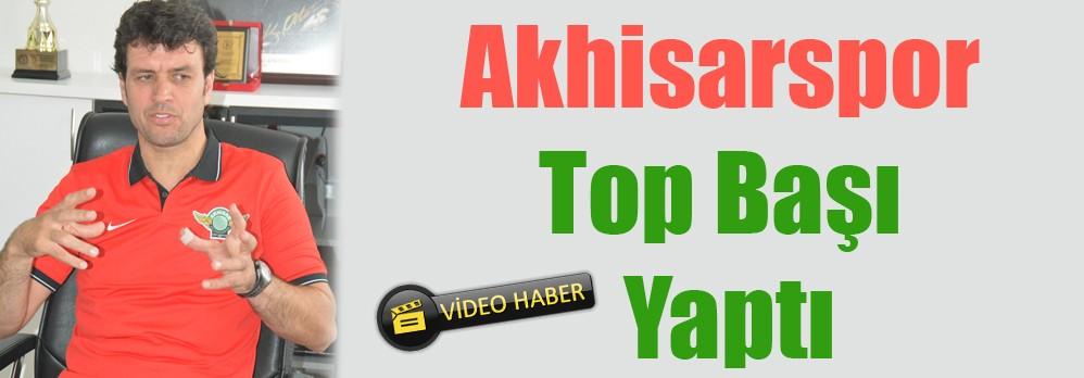 Akhisar Belediyespor Top Başı Yaptı