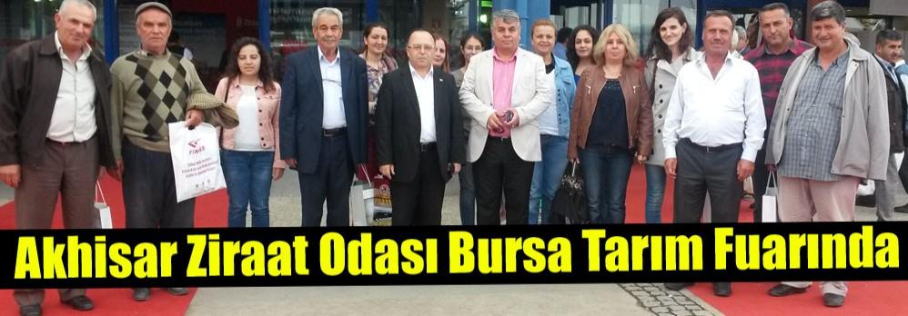 Akhisar Ziraat Odası 300 Kişilik Üreticisi ile Bursa Tarım Fuarında