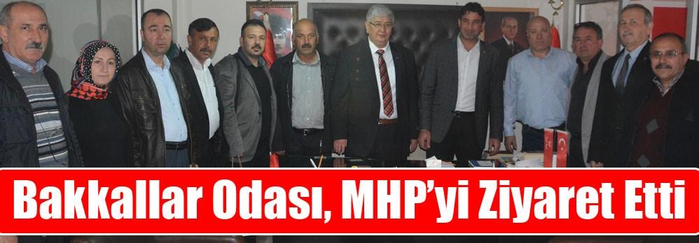 Bakkallar Odası, MHP'yi Ziyaret Etti