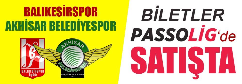 Balıkesirspor Maçının bilet satışları PassoLig.Com.tr'de