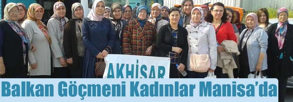 Balkan Göçmeni Kadınlar Manisa'da