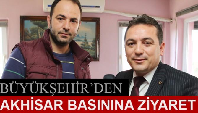 Büyükşehir'den Akhisar Basınına Ziyaret