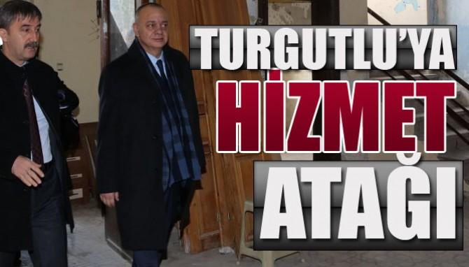 Büyükşehir'den Turgutlu'ya Hizmet Atağı