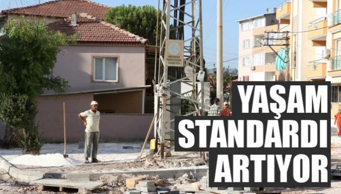 Büyükşehir Soma'da Yaşam Standardını Arttırıyor