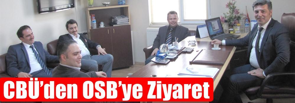 CBÜ'den OSB'ye Ziyaret