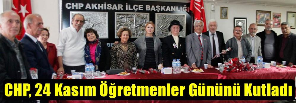 CHP, 24 Kasım Öğretmenler Gününü Kutladı