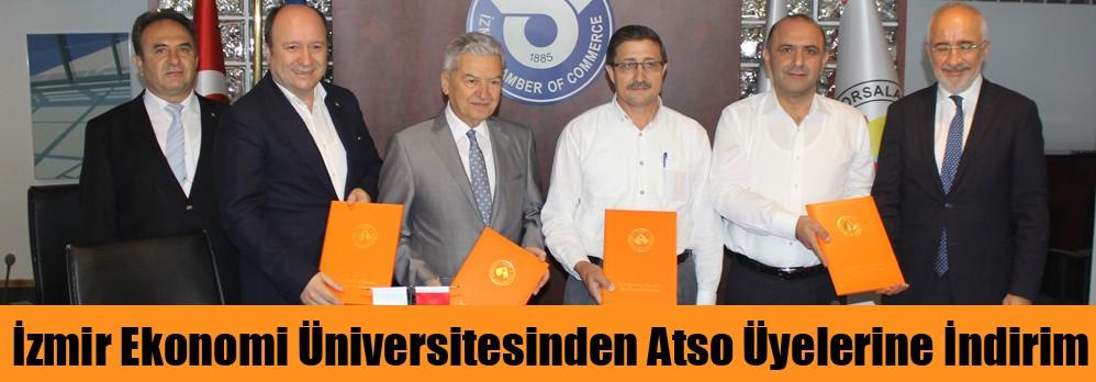 İzmir Ekonomi Üniversitesinden Atso Üyelerine İndirim